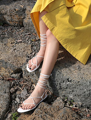 Wraparound Grecian Sandals