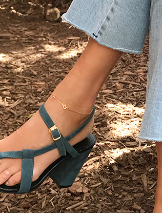 Chain Link Toggle Anklet