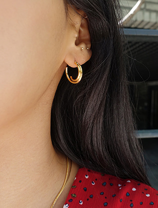 Twin Curves Earrings