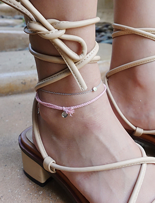 Braided Rope Cord Anklet