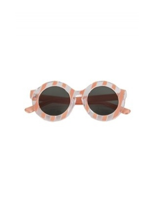 Stripe Frame Sunglasses