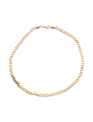 Simple Chain Necklace in Gold