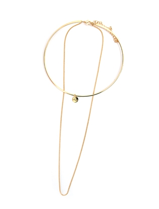 Favorite Gold Tone Necklace