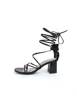 Thin Ties High-Heeled Gladiator Sandals