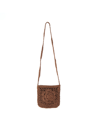 Crocheted Crossbody Bag