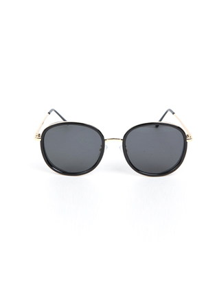 Thin Temples Oversized Tinted Sunglasses