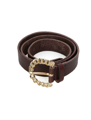 Gold Chain Rope Buckle Belt