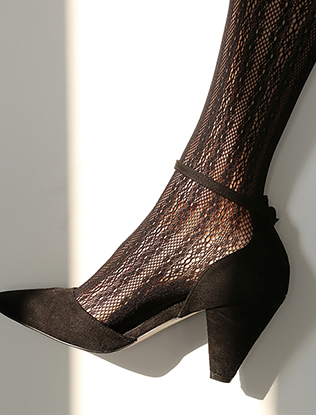 Embroidered Pantyhose