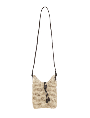 Zip Top Natural Fiber Bag