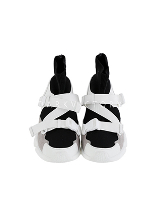 Strappy Platform Sneakers