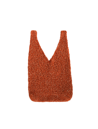 Fuzzy Knit Bag
