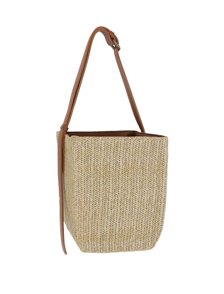 Basket Weave Square Bag