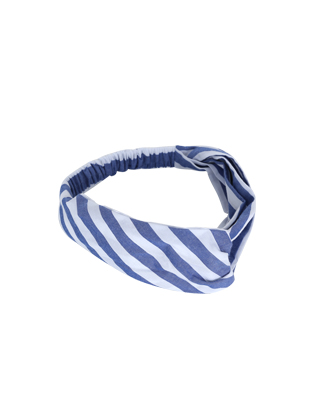 Striped Elasticized Headband