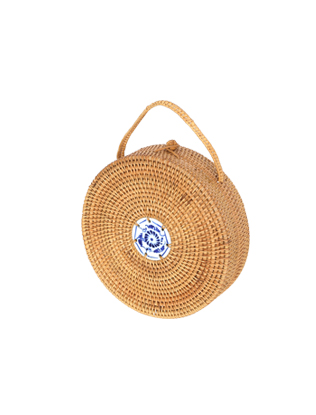 Circle Basket Bag