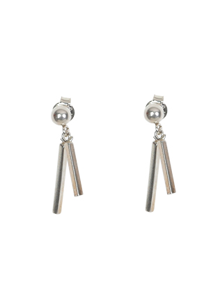 Two-Bar Drop Earrings