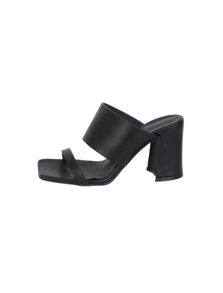 Square Toe High Heel Sandals