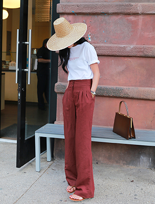 Wide Band Pants