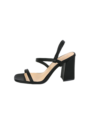 Block-Heeled Strappy Sandals