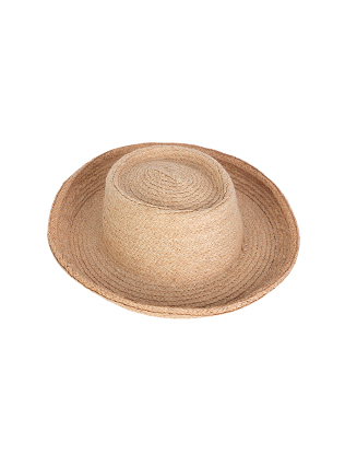 Upturned Brim Sun Hat