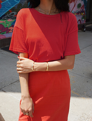 Baggy Red T-Shirt