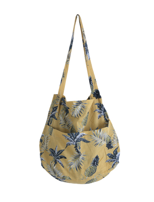 Pineapple Print Eco Bag