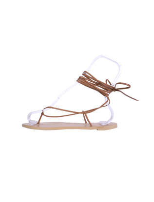 Wraparound Thong Sandals