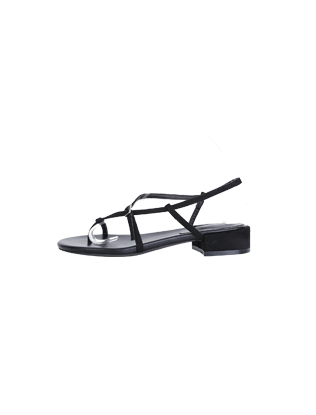 Buckled Cross Straps Sandals