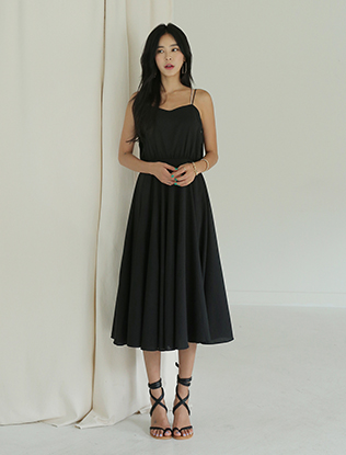 Low Back Midaxi Dress