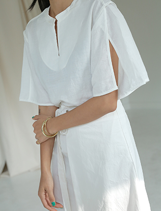 Split Sleeves Blouse