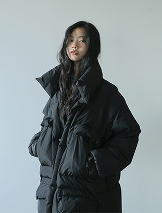 Padded Snap On Coat