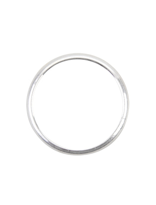 Minimalist Metallic Bangle