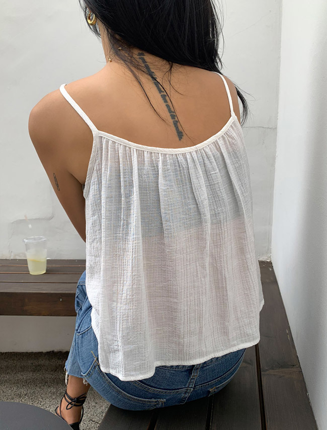 [SET] Camisole and Loose Cardigan Set