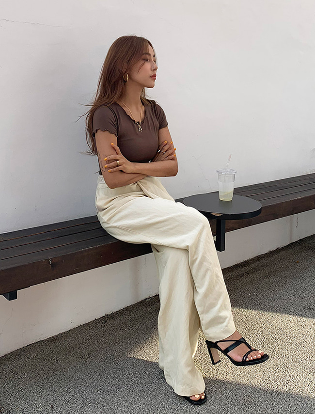 Twisted Waist Pants