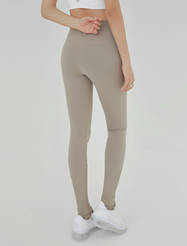 Oat Beige Sports Leggings