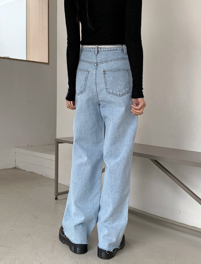 High Waist Baggy Jeans