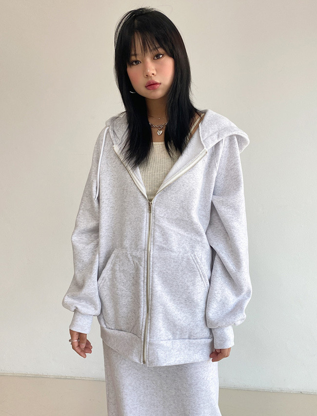 Soft Fleece Zip-Up Hoodie