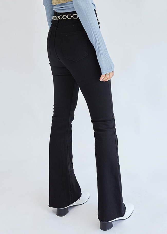 Mid Rise Bootcut Pants