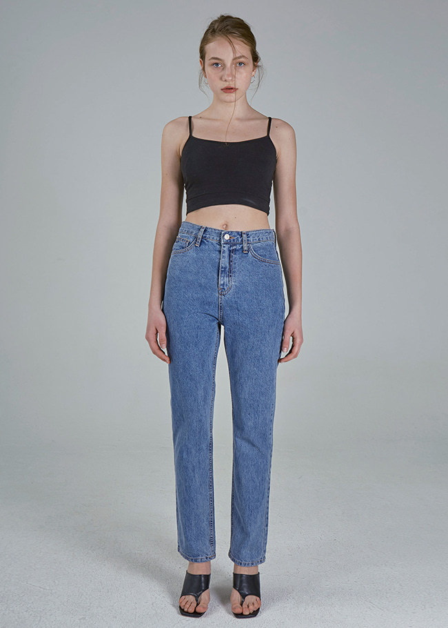 Basic Straight Jeans