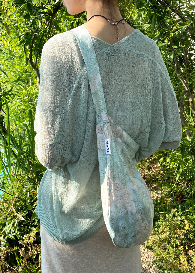 Open-Front Sheer Cardigan
