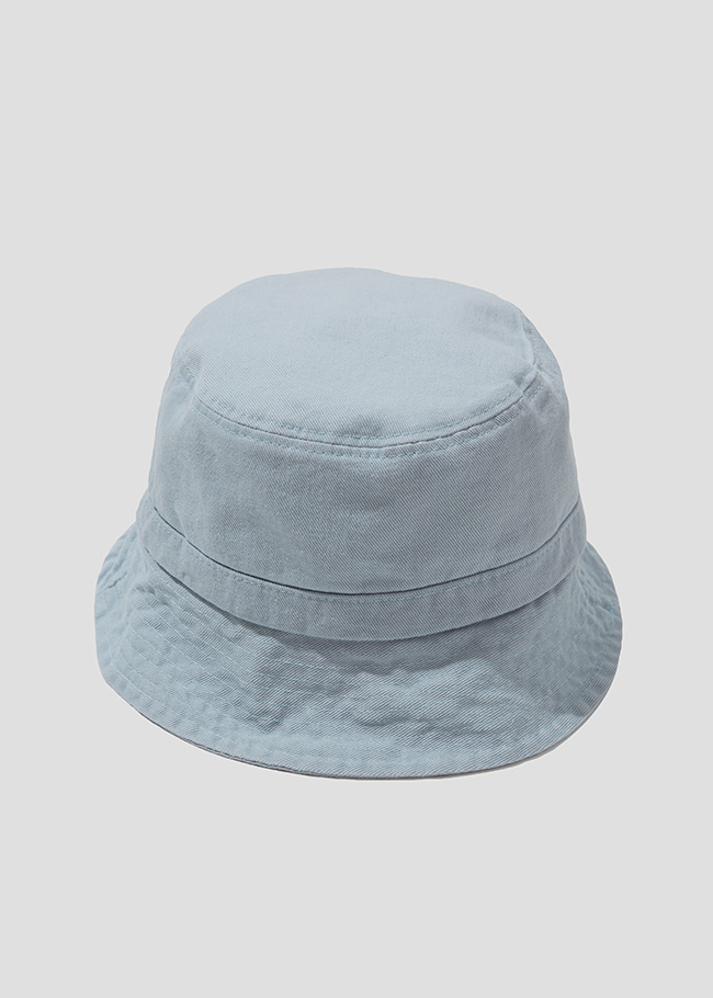 Sloping Stitch Accent Bucket Hat