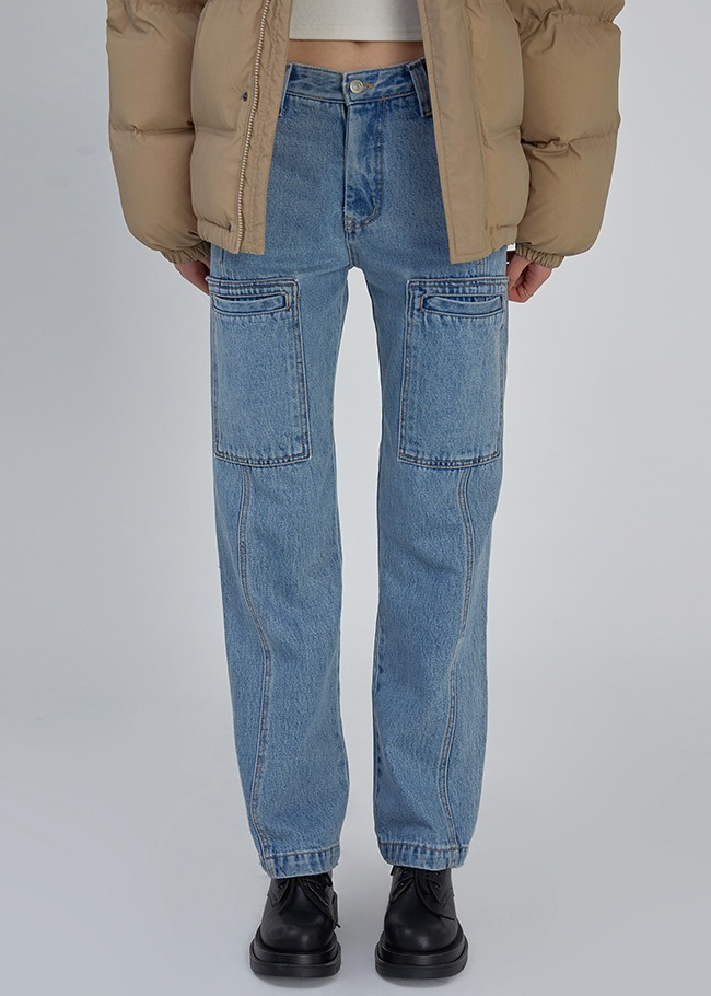 Double Pocket Jeans