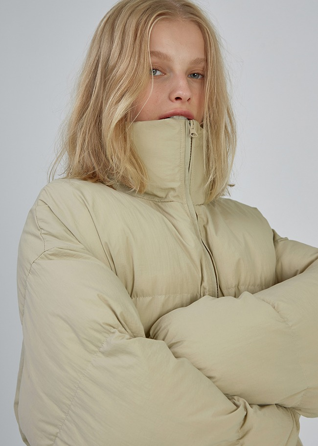 High Neck Duck Down Padding Jacket