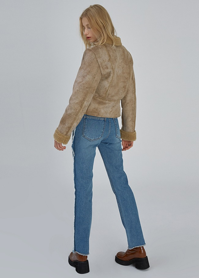 Fringed Side Jeans