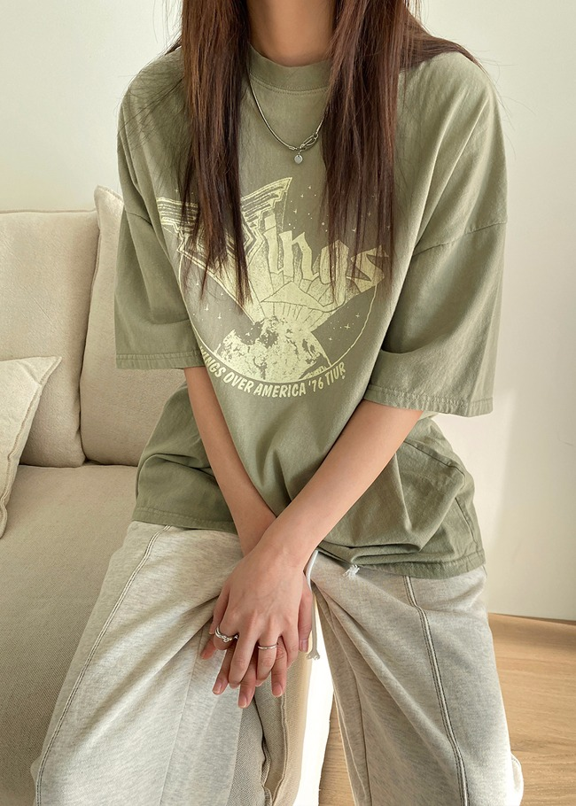 WINGS Loose Fit T-Shirt