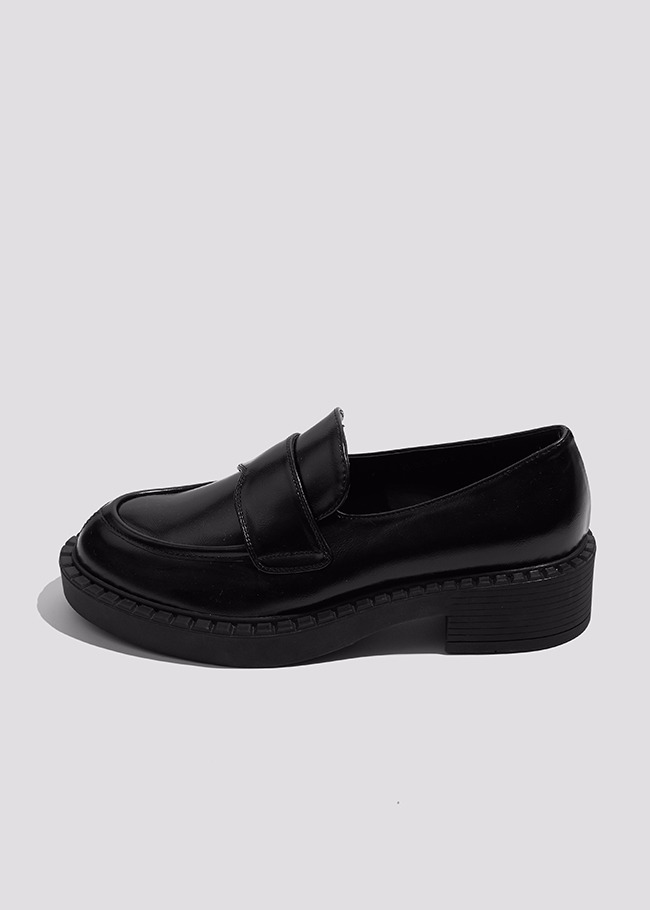 Platform Low Heel Loafers