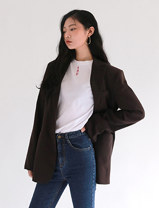 Two Button Long Jacket