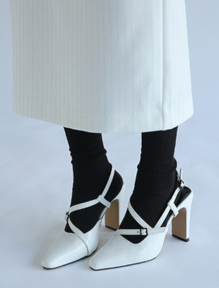 Square Toe Multi Strap Shoes