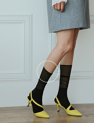 See-Through Calf Socks