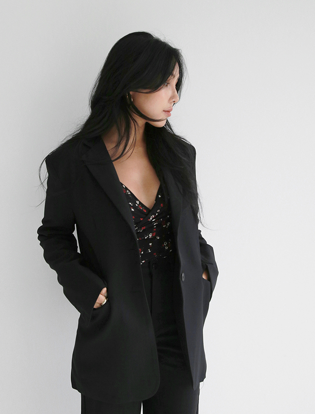 Black Two-Button Jacket